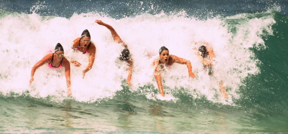 Surf IronWoman Swimmers