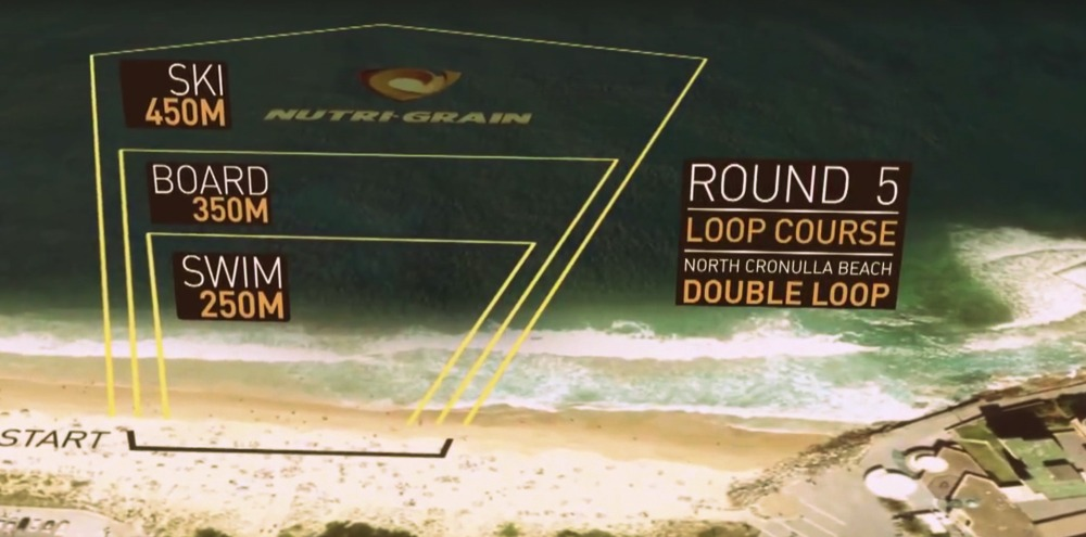 Surf IronMan Course